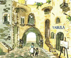 Rappresentazione artistica di Lauro del negozio TABULA