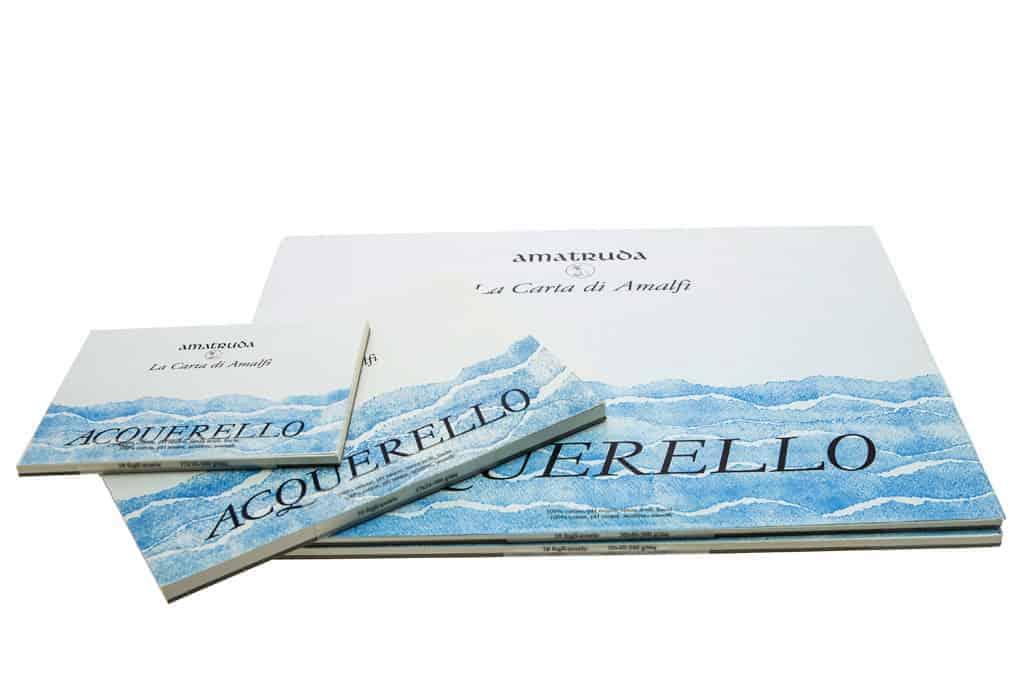 Partecipazioni Matrimonio 500.Album Acquerello 500 Gr Mq Amalfi Tabula Partecipazioni