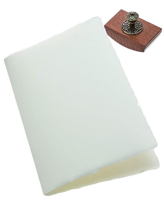 Cartoncino Per Partecipazioni Matrimonio.Partecipazione 12x18cm Doppio Cartoncino Avorio O Bianco Amalfi