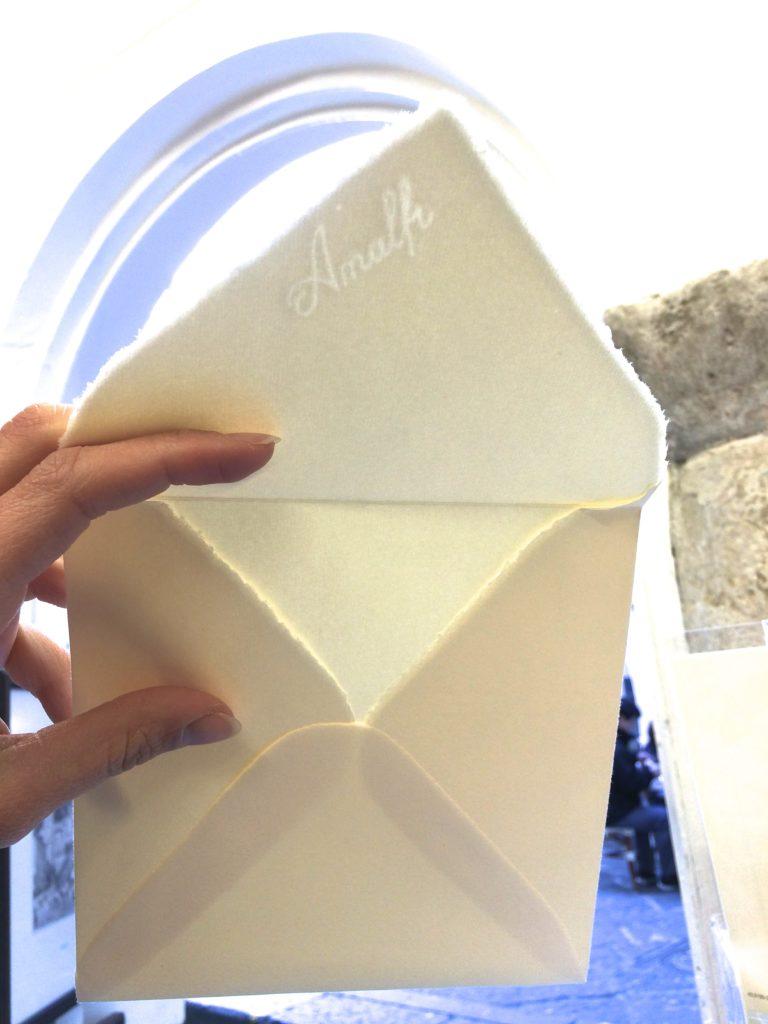 Filigrana di Amalfi che fa parte della storia della carta di Amalfi