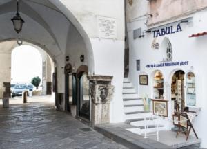 Il nostro negozio TABULA ad Amalfi