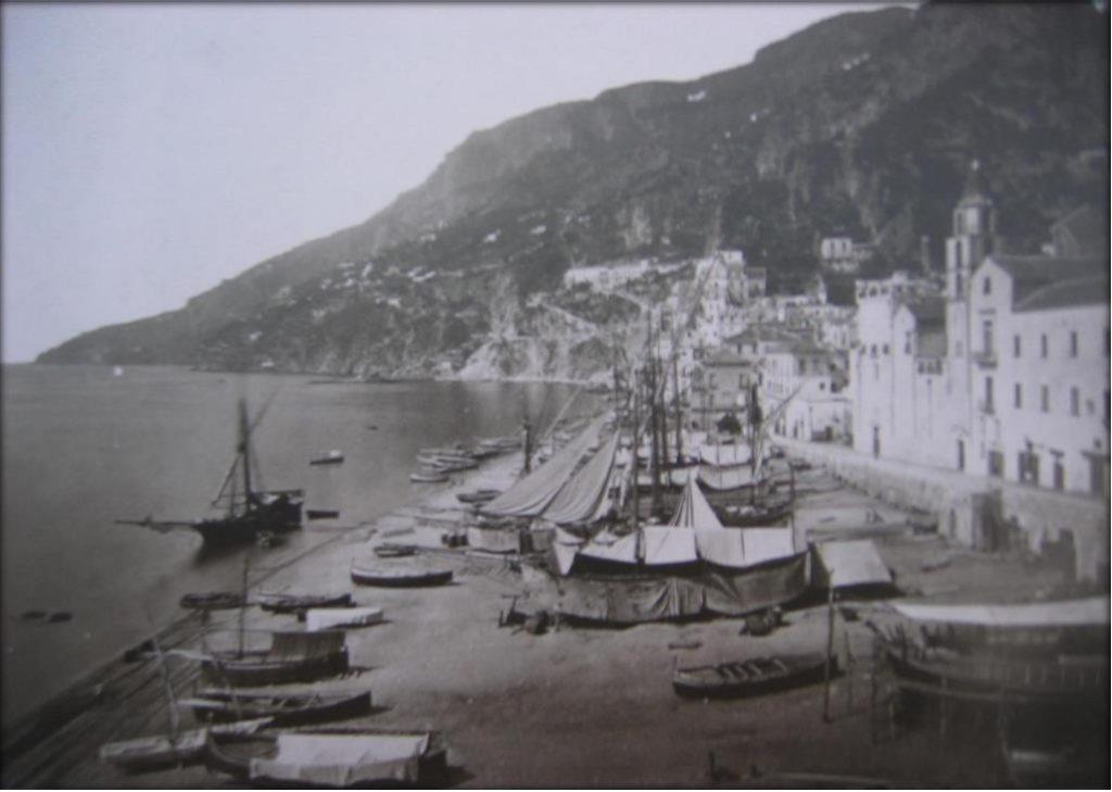 Stampa Antica di Amalfi