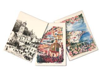 Notebook o sketchbook in carta di Amalfi