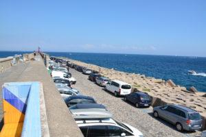 Parcheggio di Amalfi nel porto