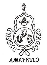 Filigrana antica sulla carta di Amalfi di Amatruda